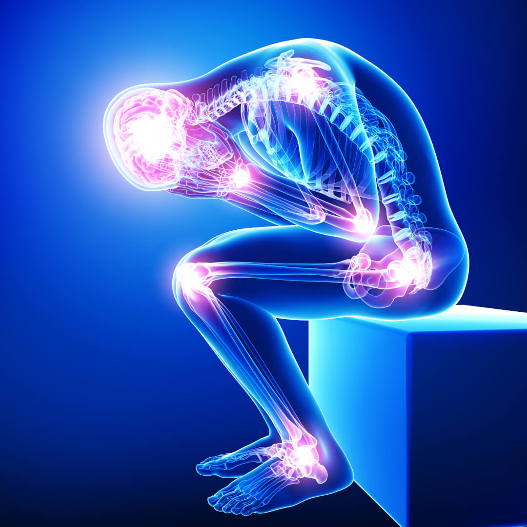 Nakkesmerter, hovedpine og svimmelhed